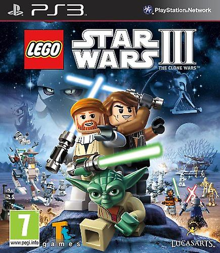 LEGO Star Wars 3 The Clone Wars (PS3) - New