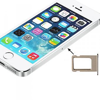 Apple iPhone 5 5S SIM cards Halter Sim Tray Sim slide SIM holder gold
