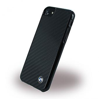 BMW de fibra de carbono funda de tapa dura para Apple iPhone 7 BMHCP7MBC