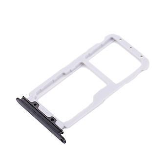 For Huawei Nova 2 SIM-kort Halter SIM bakke SIM skub SIM-kortholderen sort
