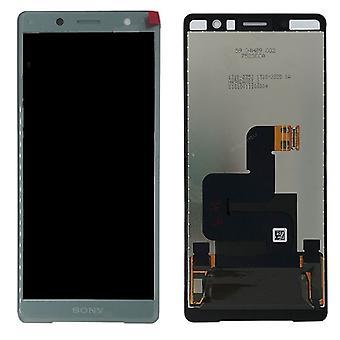 Sony écran LCD complet pour Xperia XZ2 compact H8314 / pièces de rechange de H8324 vert nouveau