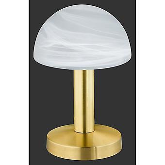 Trio d'éclairage Fynn Classic Brass Matt métal lampe de Table