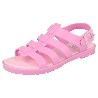 Ladies Waves Jelly Sandals