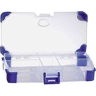 VISO Assortiment doos (L x W x H) 140 x 70 x 30 mm Nr. compartimenten: 5 vaste compartimenten 1 pc(s)