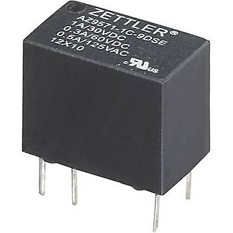 Zettler Electronics AZ9571-1C-12DE PCB relay 12 V DC 1 A 1 change-over 1 pc(s)