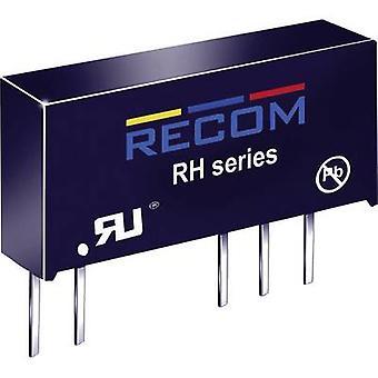 RECOM RH-0515D DC/DC omvandlare (tryck) 5 V DC 15 V DC,-15 V DC 33 mA 1 W No. av utgångar: 2 x