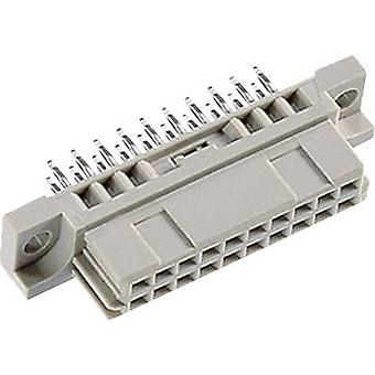Edge connector (receptacle) 102-80065 Total number of pins 20 No. of rows 2 ept 1 pc(s)
