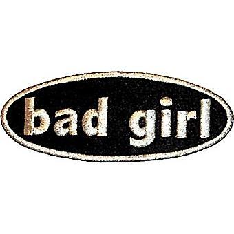 Bad Girl Iron-On/naai-On Patch