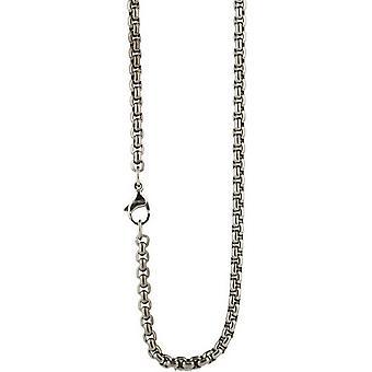 Ti2 Titanium Venetian Inka Chain - Silver