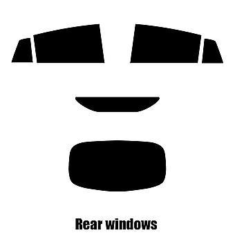 Pré corte matiz de janela - janelas de traseira Hyundai Ioniq - 2017 e mais recentes-