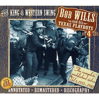 Bob Wills & His Texas Playboys - King of Western Swing [CD] USA import