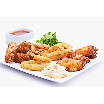 Country Range Frozen Hot & Spicy Chicken Wings