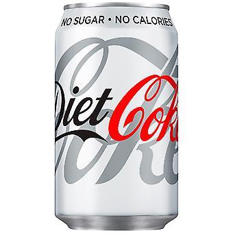 Latas de Coca Cola Diet Coke