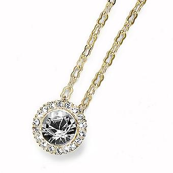 Oliver Weber Pendant More Basic Gold Crystal