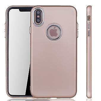 Apple iPhone cover XS Max - mobiltelefon fall för Apple iPhone XS Max - mobil fall i guld