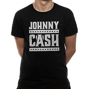 Johnny Cash-Simple Logo T-Shirt