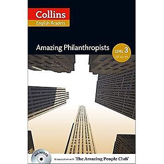Increíbles filántropos: B1 (Collins increíble gente ELT lectores)