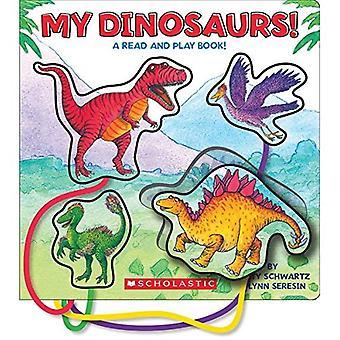Mijn dinosaurussen!: een lees- en Play boek