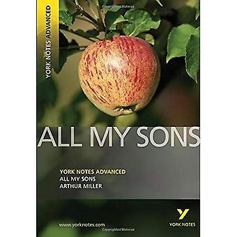 Al mijn zonen (York Notes geavanceerde)