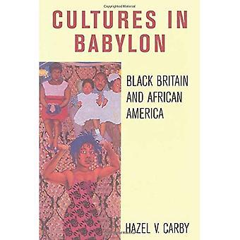 Cultures à Babylone: Grande-Bretagne et Amérique africain noirs