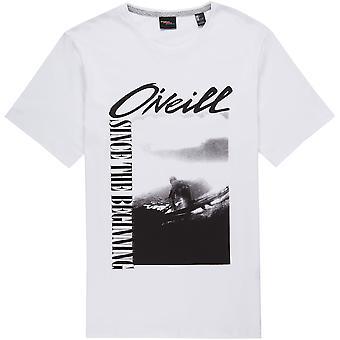 O'Neill Miesten t-paita ~ runko valkoinen