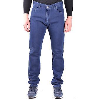 Paul & Shark Ezbc042057 Men's Blue Cotton Jeans