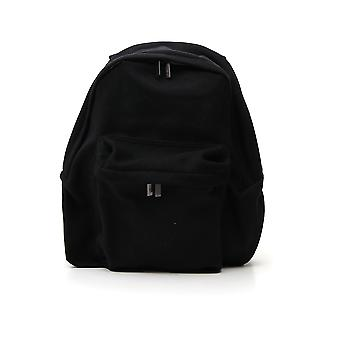 Yohji Yamamoto Hvi09974 Men's Black Polyester Backpack