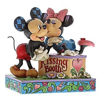 Disney Traditions Mickey und Minnie Maus Kissing Booth Figurine