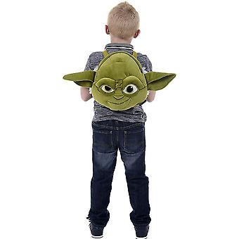 Barnas Star Wars Yoda plysj ryggsekk