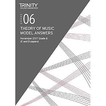 Trinity College London - Theory Model Answers (Nov 2017) Grade 6 - 978