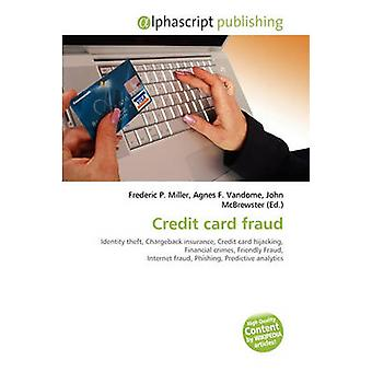 Credit Card Fraud by Frederic P Miller - 9786130811983 Book
