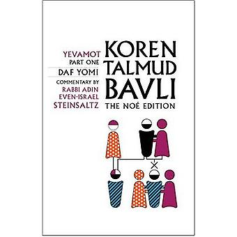 Koren Talmud Bavli - Yevamot Part 1 - English - Daf Yomi - v. 14 by Adi
