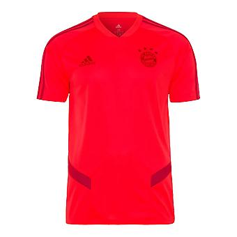 2019-2020 Bayern Munich Adidas Training Shirt (Red) - Kids