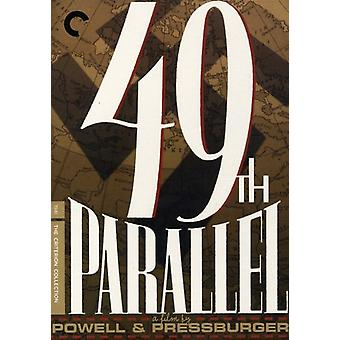 49th Parallel [DVD] USA import