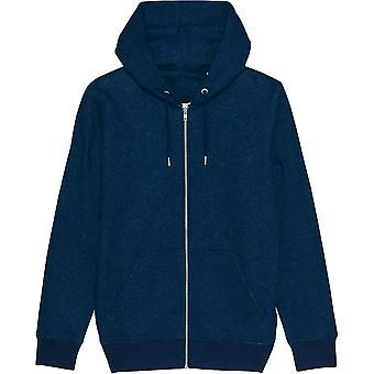 greenT Mens Organic Cultivator Iconic Zip Up Sweater Hoodie