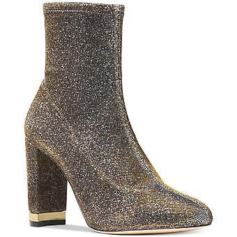 Michael Kors Womens Stretch Ankle Boot Closed Toe Ankle Fashion Boots