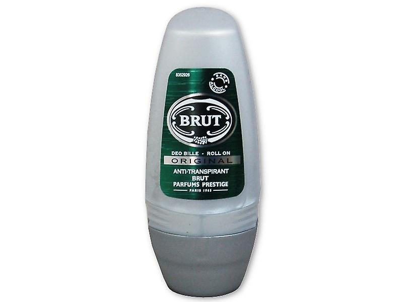 6 X Brut Anti-Transpirant Roll On 50 Ml - Original