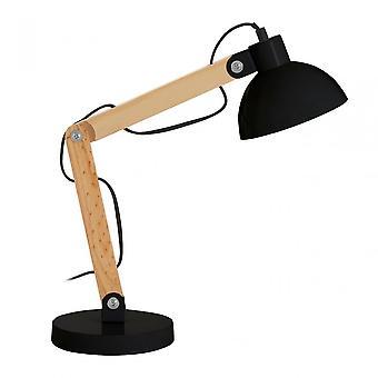 Premier hem Blake bordslampa, metall, svart