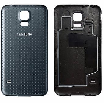 Pour Samsung Galaxy S5 batterie Cover-black-Original qualité
