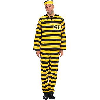 Trajes de homens homens bandido amarelo preto