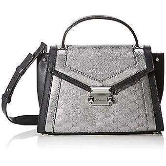 Michael KorsGingham elegant stil HandbagsDonnaBorseSilver (sølv) 12x17x26 centimeter (B x H x T)