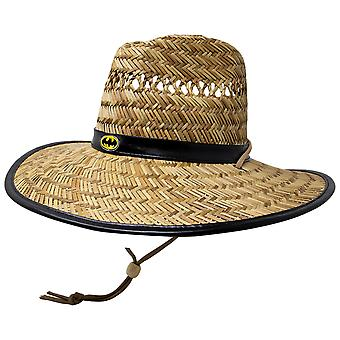 Batman Straw Lifeguard Hat