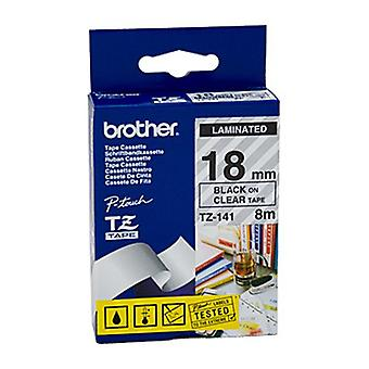 18 mm Brother TZe141 Labeling Tape