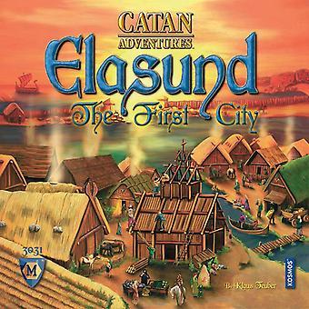 Catan Adventures Elasund Das erste Stadtvorstandsspiel