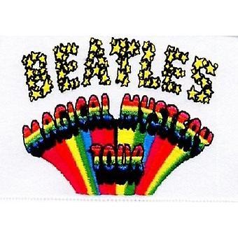 ザ ・ ビートルズのマジカル ミステリー ツアー バンド ロゴ公式 (9 cm x 6 cm) パッチします。