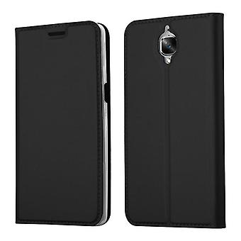 Case for OnePlus 3 / 3T Foldable Phone Case - Cover - with Stand Function and Card Tray