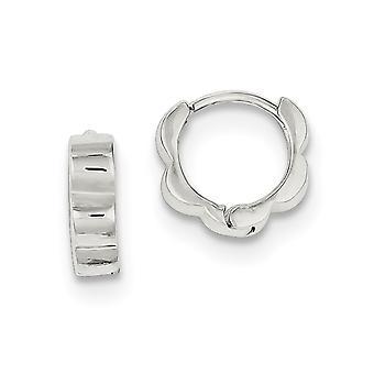 925 Sterling Zilver gepolijst scharnieren oorbellen sieraden geschenken voor vrouwen - 1,8 gram