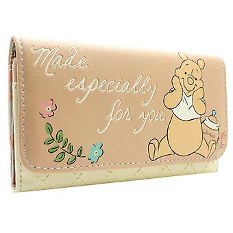 Winnie The Pooh Made Especially for you Coin & Card Tri-Fold Purse