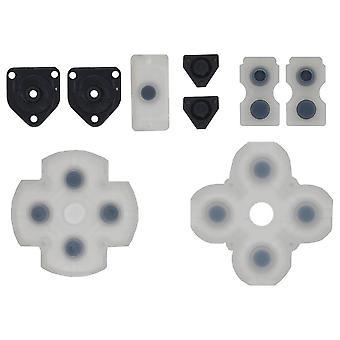 Ersättare knapptryckning gummi pad set för PS4 controllers | iParts4u