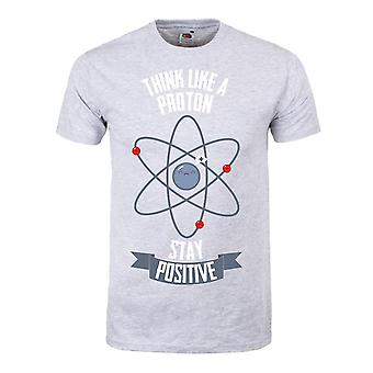 Grindstore Mens Think Like A Proton T-Shirt